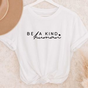 NEW be a kind human graphic tee S-5X